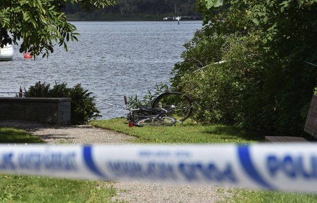 Un bateau à moteur blanc attendait les deux voleurs sur le lac Malaren.
