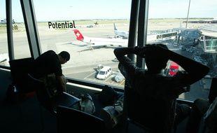 Le 3 juillet 2011, au sein de l'aéroport de Lyon. CYRIL VILLEMAIN/20 MINUTES