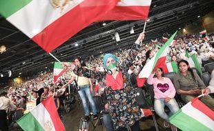 Le rassemblement annuel des Moudjahidines du peuple iranien à Villepinte, le 30 juin 2018.