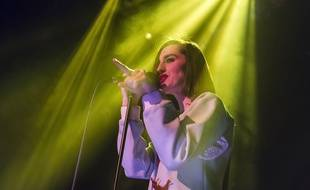 Brussels - 17 december 2014  Yelle in concert at Le Bota   Yelle en concert au Botanique   Pix: Julie Budet  Credit: JMQuinet/ISOPIX_153635/Credit:ISOPIX/SIPA/1412191543