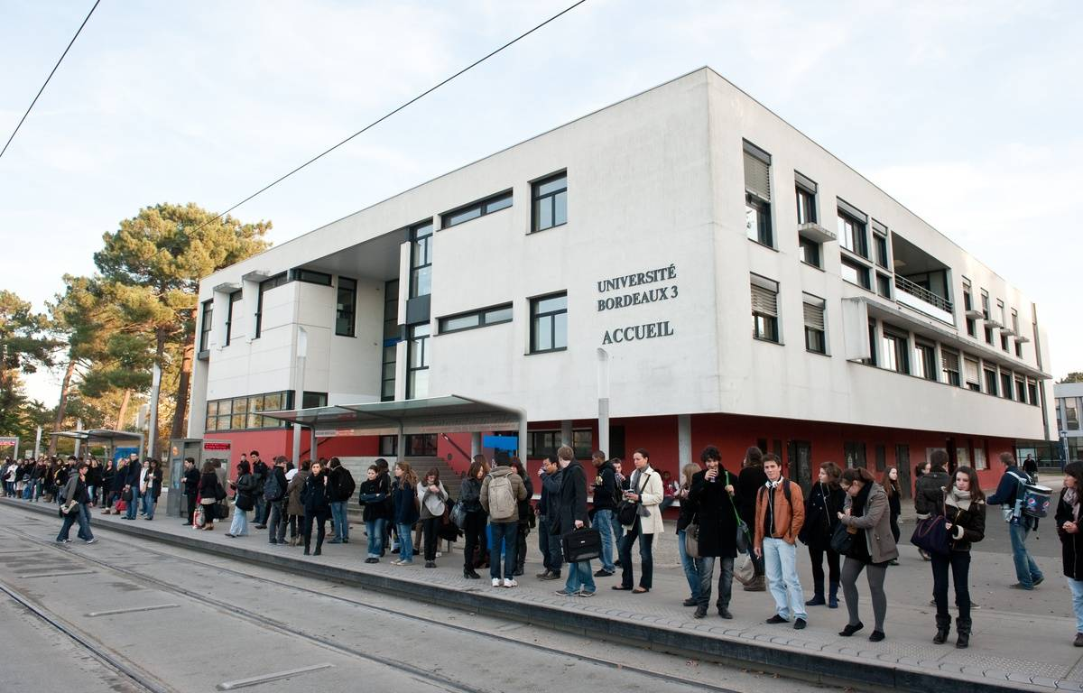 L'université de Bordeaux-3 à Pessac, 30 novembre 2011. – S. ORTOLA / 20 MINUTES