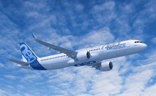 L'A321neo, un moyen porteur gros succès du moment pour Airbus.