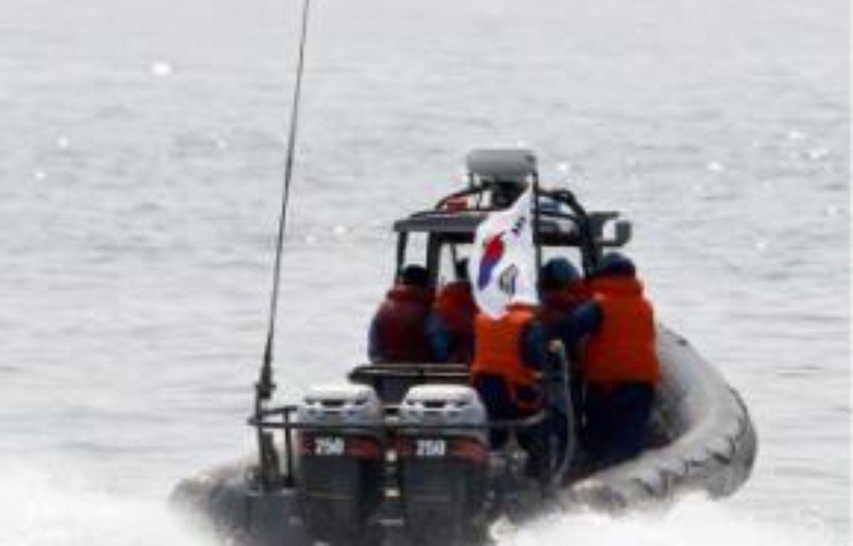 La Corée du Sud intensifie ses patrouilles. –  BYUN YEONG-WOOK / AFP