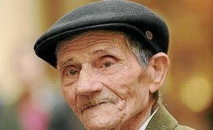 Raymond Gurême, nomade, a été interné lorsqu'il avait 15 ans.