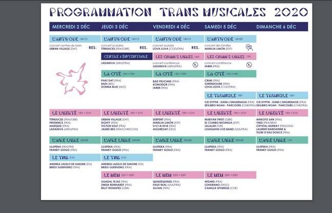 La programmation de la 42e édition des Trans Musicales.