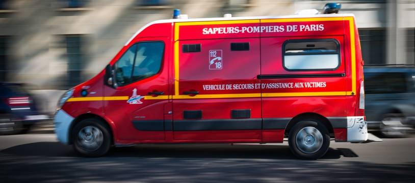 Illustration d'un véhicule des sapeurs-pompiers.