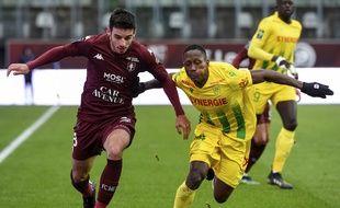 Le FCN s'est incliné face à Metz (0-2) ce dimanche après-midi