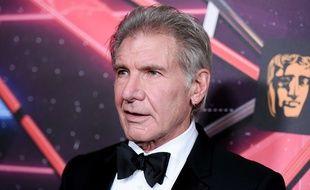 Harrison Ford lors de la cérémonie des Britannia Awards, le 30 octobre 2015.