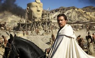 Christian Bale dans le film «Exodus: Gods and Kings» de Ridley Scott.
