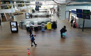 L'intérieur de la nouvelle gare de Rennes ici photographiée le 23 janvier 2019.