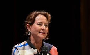 Ségolène Royal lors du festival du Livre de Nice 2019.