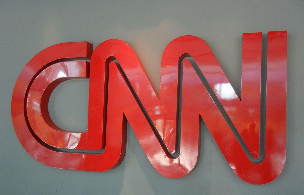 Le logo de la chaîne d'information en continu CNN.  – Leslie Lau/EPN/NEWSCOM/SIPA