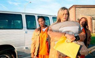 """Netflix a lancé jeudi 11juillet 2013 """"Orange is the new black"""", sa nouvelle série."""