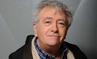 Jean-Yves Lafesse en 2017 lors de l'enregistrement de « Les grands du rire, l'émission du dimanche »