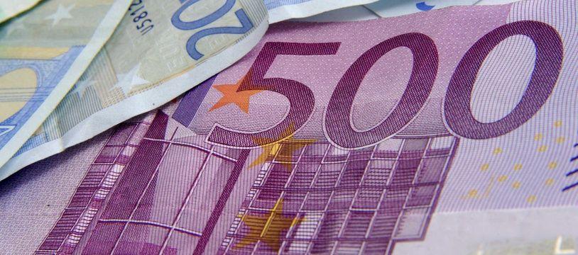 Billets de banque (illustration)