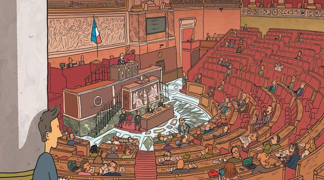 «Avec les politiques, pas besoin de forcer le trait», raconte Kokopello, auteur d'une bande dessinée sur les députés