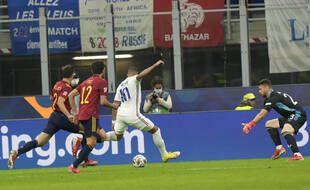 Kylian Mbappé a marqué le but de la victoire