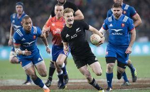 Le XV de France a terminé sa tournée en Nouvelle-Zélande sur une nouvelle défaite (49-14), le 23 juin 2018 à Dunedin.