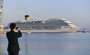 Un bateau de croisière Costa (image d'illustration).