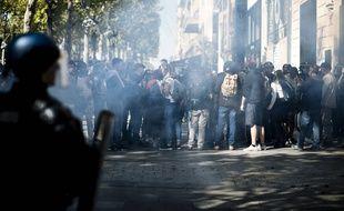 L'intervention des forces de l'ordre et l'ambiance de confusion ont indigné des participants et les organisateurs de la marche pour le climat