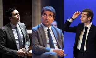 Julien Aubert, Christian Jacob, Guillaumé Larrivé, les trois candidats déclarés à la préisdence LR