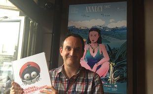 Laurent Valière et son livre