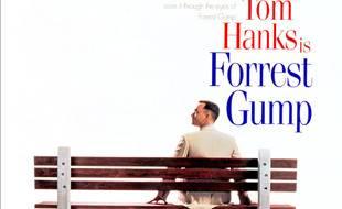 L'affiche du film «Forrest Gump», avec Tom Hanks.