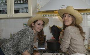 Mathilde et Julie, les deux fondatrices du site d'échange d'aliments, Food Swap'ers