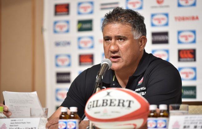 Le coach de l'équipe japonaise de rugby, Jamie Joseph, à Tokyo le 29 août 2019.