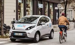 Bluely, service de voitures électriques en libre-service, a cessé ses activités le 31 août à Lyon.