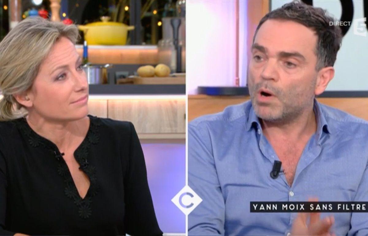 Anne-Sophie Lapix et Yann Moix règlent leurs comptes sur le plateau de « C à vous » – France 5