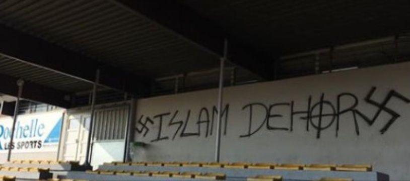 Tags racistes et islamophobes ont été trouvés ce dimanche à La Rochelle.