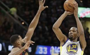 Kevin Durant face à Cleveland