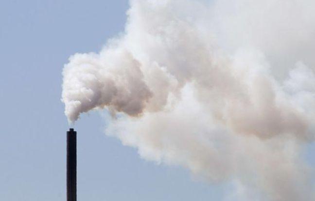 Illustration: Une cheminée d'usine en Australie.