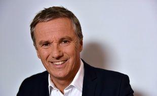 Nicolas Dupont-Aignan, candidat Debout la France à la présidentielle, le 20 septembre 2016 à Paris