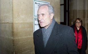 Jean et Xavière Tibéri lors de leur procès en appel, le 12 novembre 2012, à Paris.