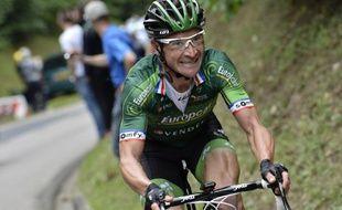Thomas Voeckler lors de la 7e étape du Tour de France, le 11 juillet 2014.