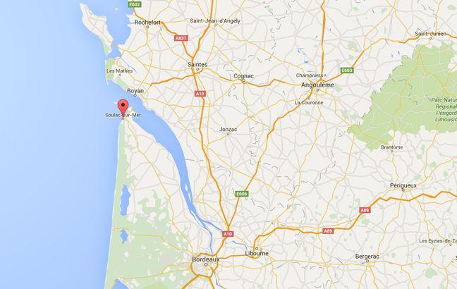 Soulac-sur-Mer se situe à la pointe du Médoc.
