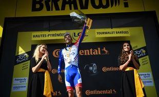 Thibaut Pinot a remporté la 14e étape du Tour de France, en haut du Tourmalet.
