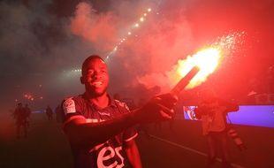 Foot RCS vs Bourg en Bresse. Strasbourg  le 19 mai 2017