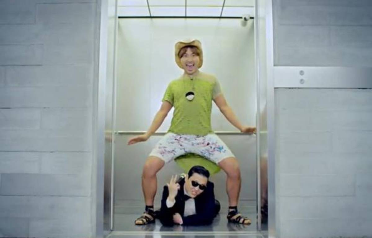 Capture d'écran de la vidéo Youtube de PSY - Gangnam Style. – 20 MINUTES