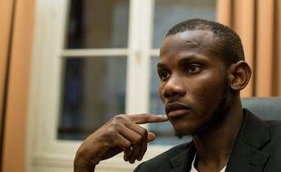 Lassana Bathily, le héros de l'Hypercacher de la Porte de Vincennes, le lundi 21 décembre.