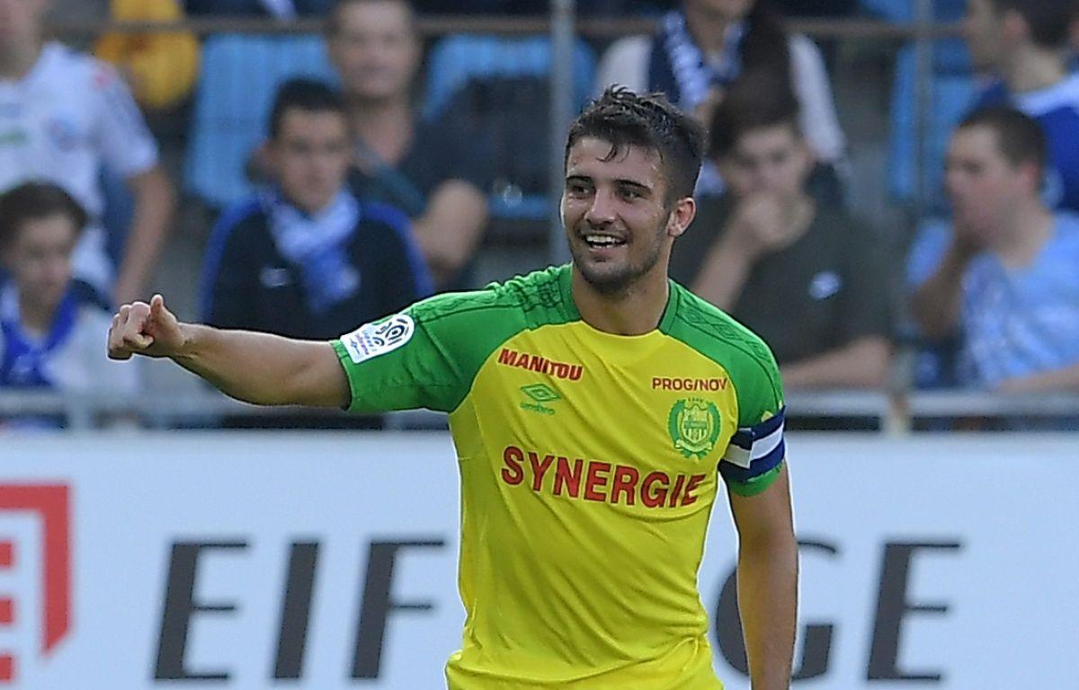 FC Nantes: Contre Strasbourg, il y a eu des buts et il y a eu Léo Dubois.  – Patrick Hertzog / AFP