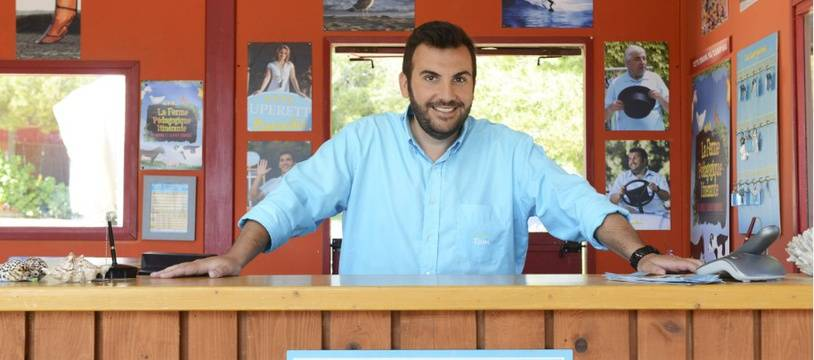 Laurent Ournac dans Camping Paradis