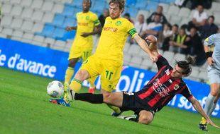 NANTES, le 25/09/2013 ARISTEGUIETA joueur du FCN lors du match contre Nice
