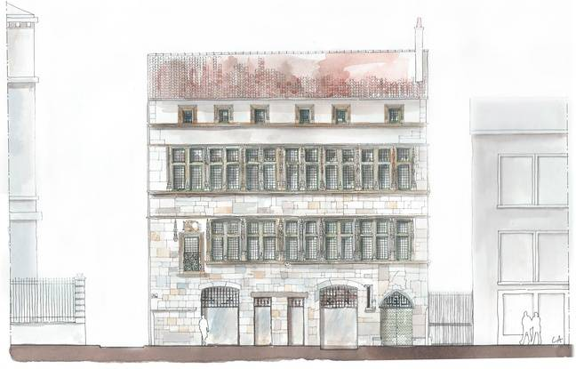 La maison du Chamarier dans le Vieux-Lyon va être rénovée