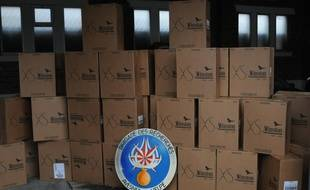 35.000 paquets de cigarettes de contrebande ont été découverts par les gendarmes du Quesnoy