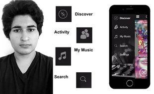Mike Meimoun a créé l'application Mixtr.