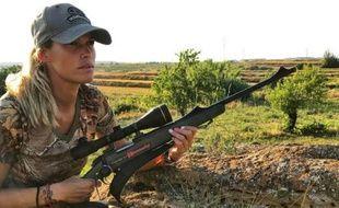 Melania Capitan, Espagnole de 27 ans, postait en ligne des photos la montrant posant auprès des animaux qu'elle venait de tuer.