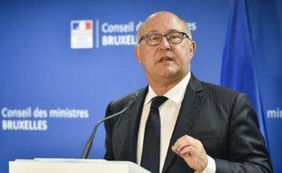Le ministre français des Finances Michel Sapin, le 27 juin 2015 à Bruxelles
